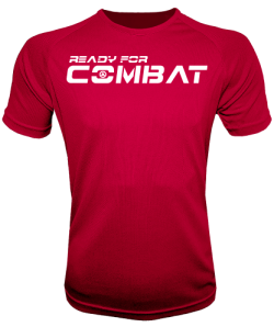 Camiseta gym ready for combat