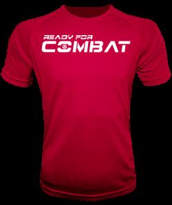 Camiseta gym ready for combat