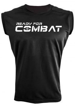Camiseta deportiva sin mangas ready for combat
