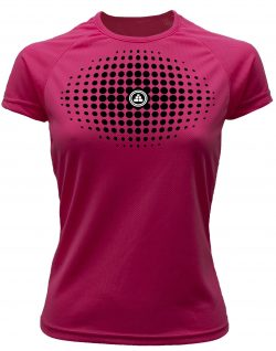 Camiseta fitness degradado Rosa