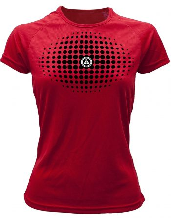 Camiseta fitness degradado Rojo