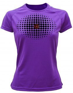 Camiseta fitness degradado Violeta