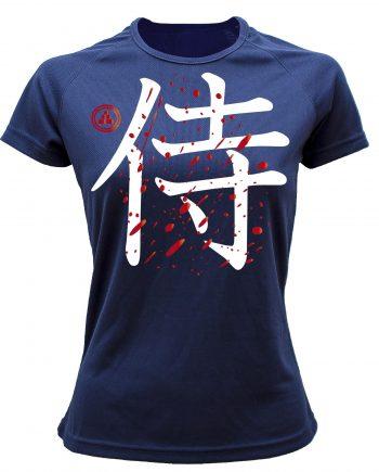 Camiseta running samurai