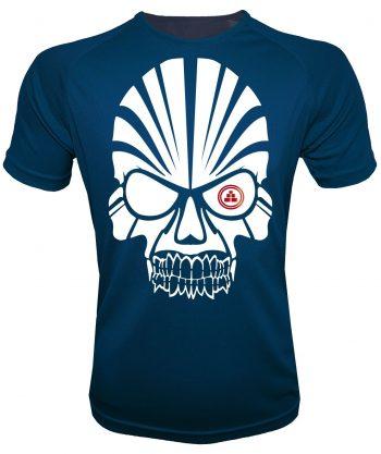 Camiseta deportiva calavera