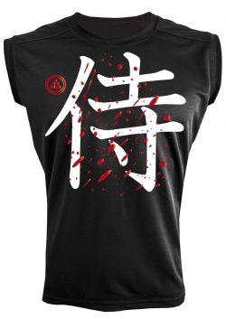 Camiseta deportiva samurai
