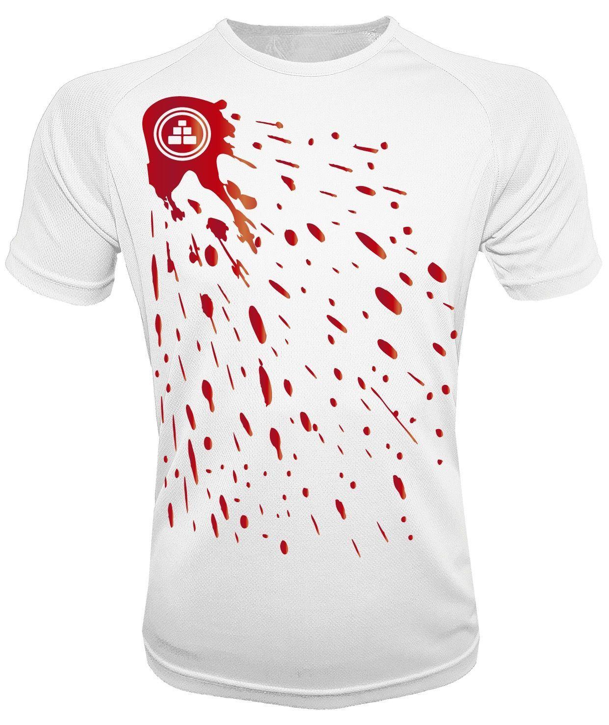 Camiseta de deporte pintura B