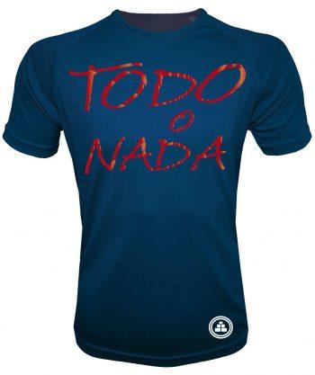 Camiseta de deporte todo o nada AM