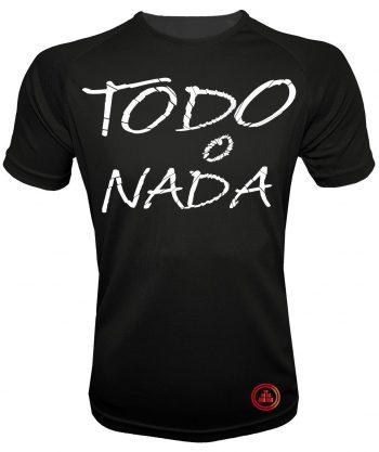 Camiseta de deporte todo o nada N