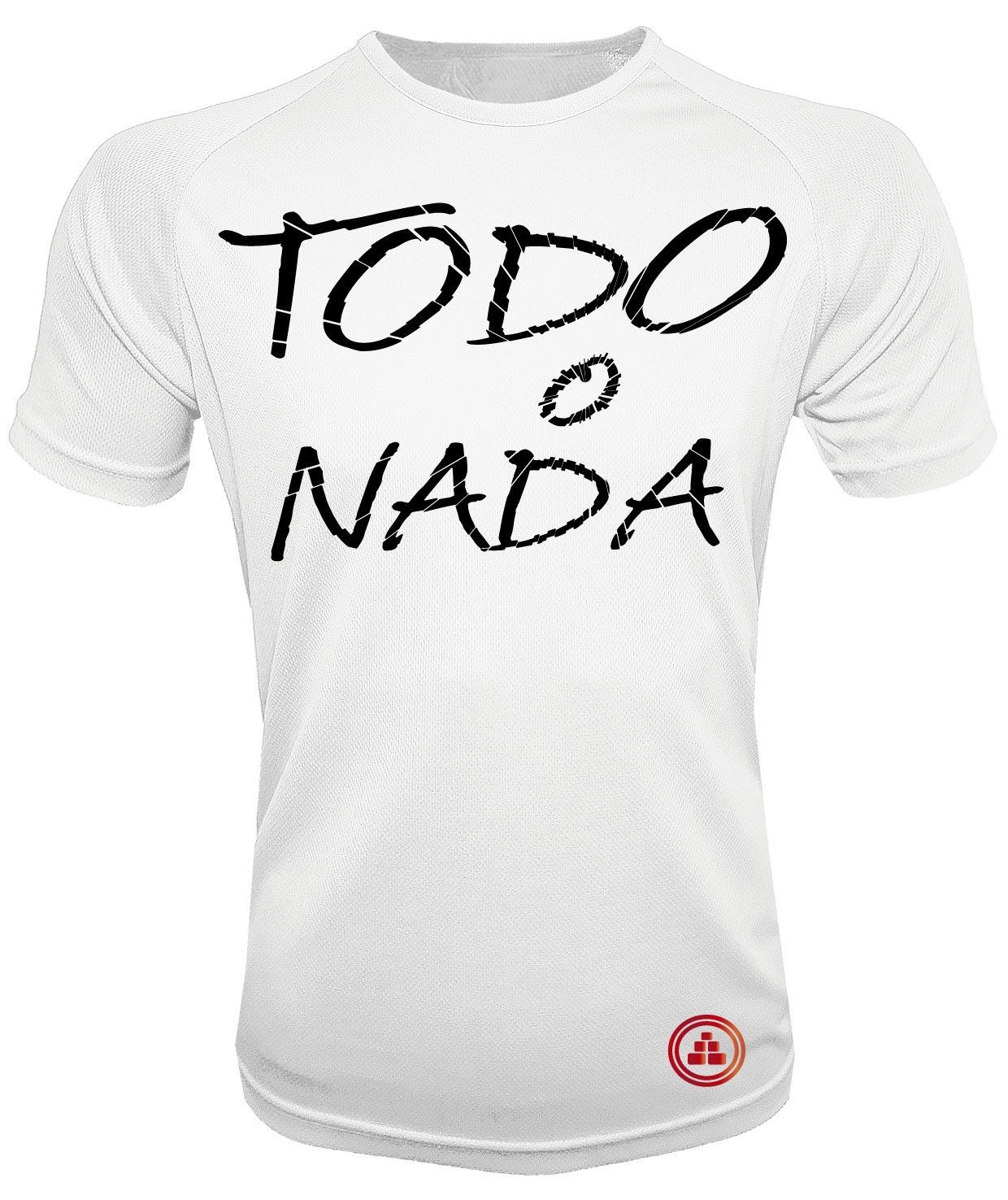 Camiseta de deporte todo o nada B