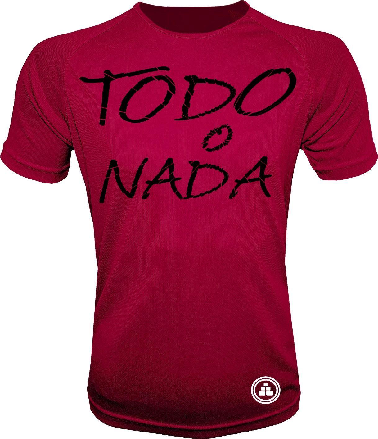 Camiseta de deporte todo o nada R