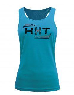 Camiseta fitness de tirantes Entrenamiento HIIT Aqua