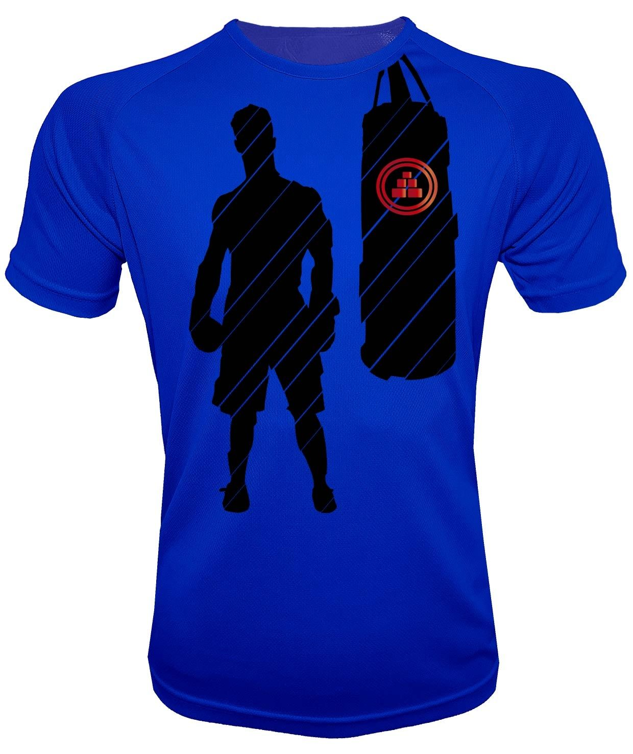 Camiseta de deporte de boxeo Azul Royal