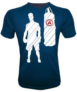 Camiseta de deporte de boxeo Azul marino