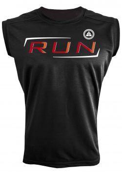 Camiseta de deporte sin mangas RUN
