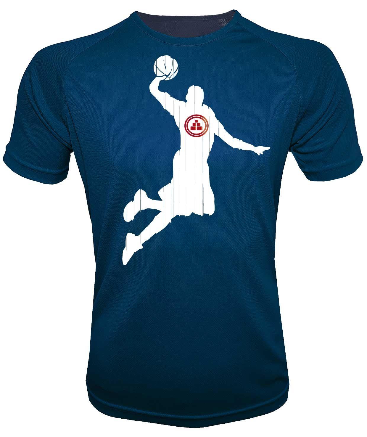 Camiseta deportiva básquet