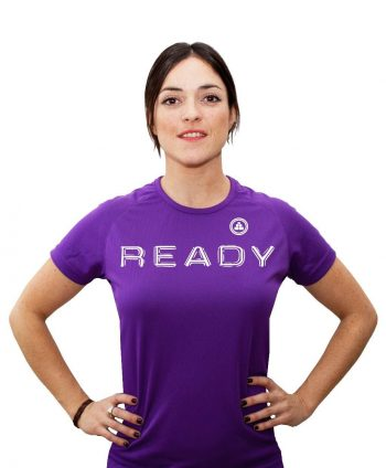 CAMISETA FITNESS READY MV