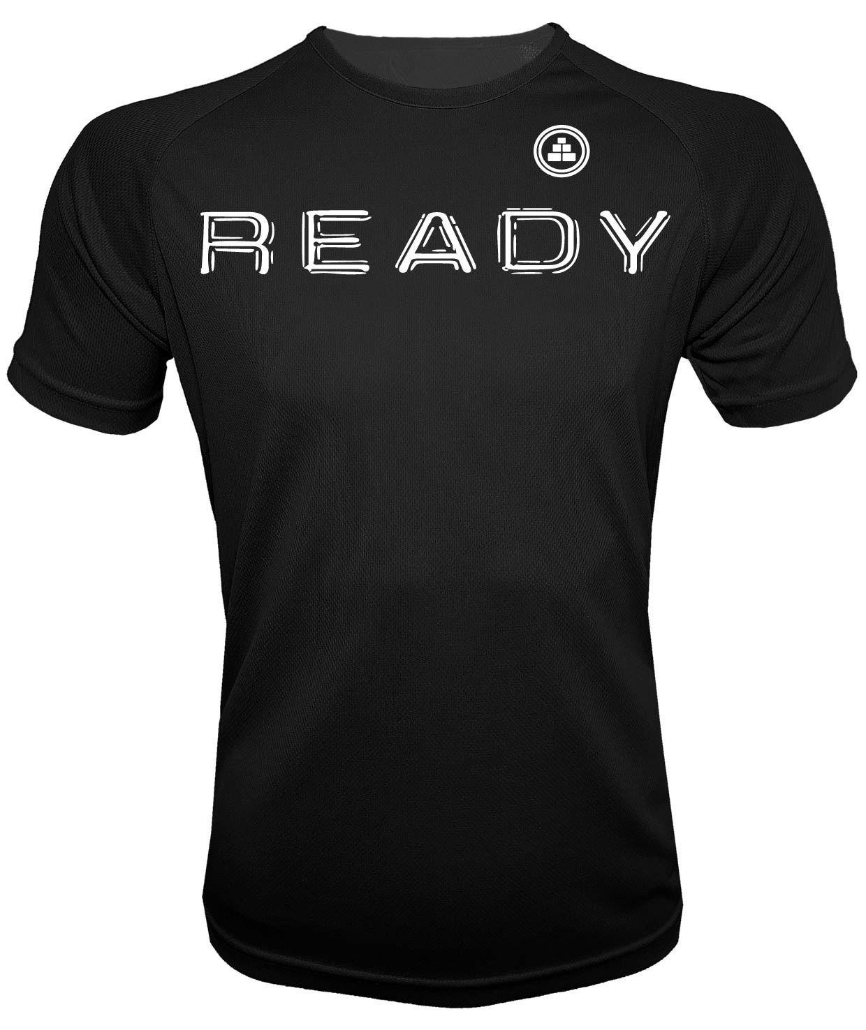 Camiseta de deporte Ready N