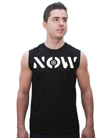 Camiseta de deporte sin mangas NOW