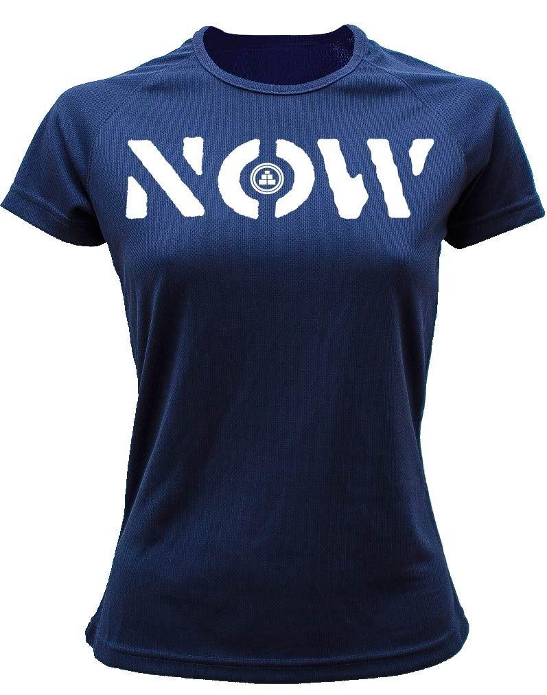 Camiseta deportiva Mujer NOW Azul marino