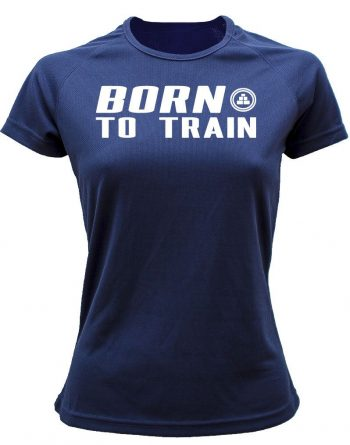 Camiseta fitness deportiva born to train am