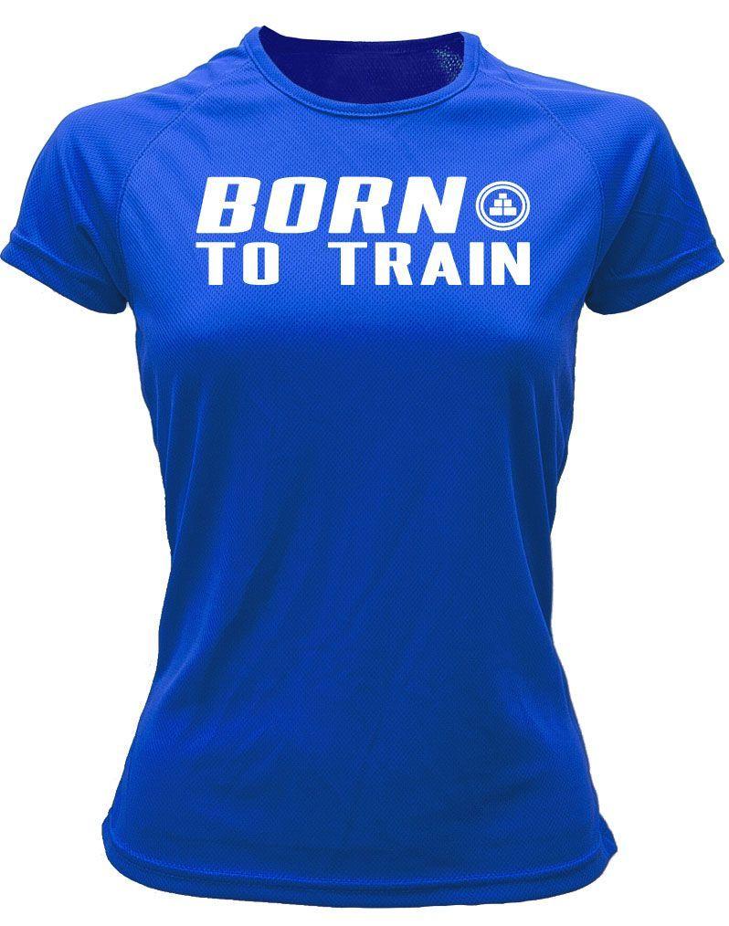 Camiseta fitness deportiva born to train AR