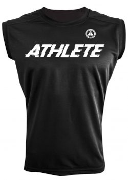 Camiseta sin mangas Athlete Negra