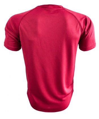 Camiseta deportiva detrás es