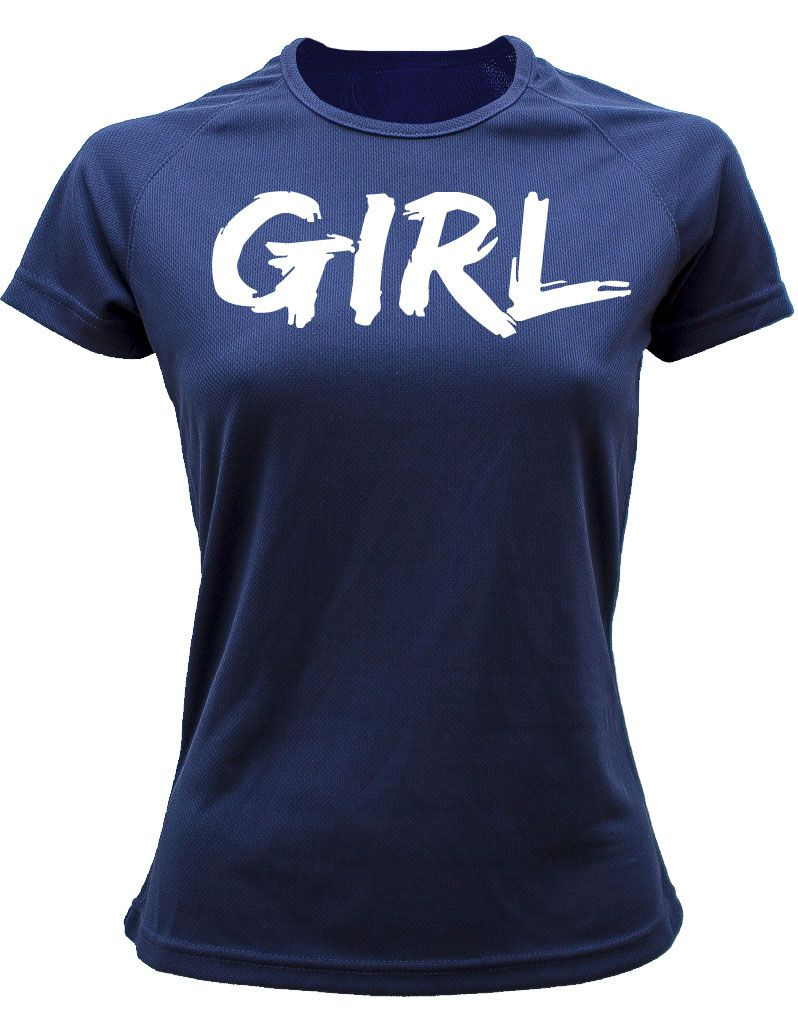 Camiseta Feminista GIRL DRI-FIT AM