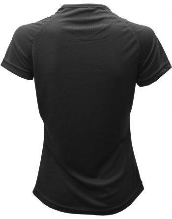 Camisetas Deportivas Mujer Detrás es