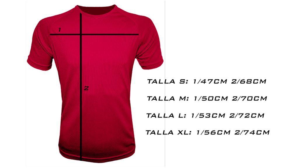 Camiseta-hombre-manga-corta-talla es