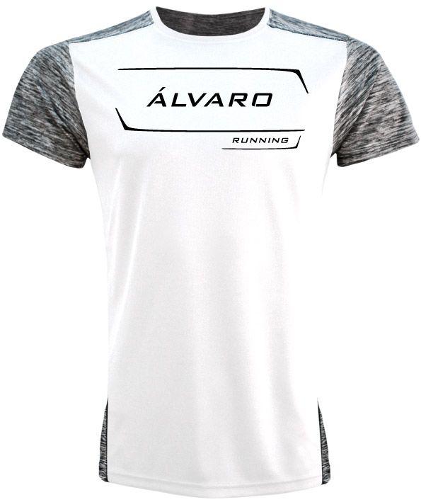 camiseta running personalizada alvaro