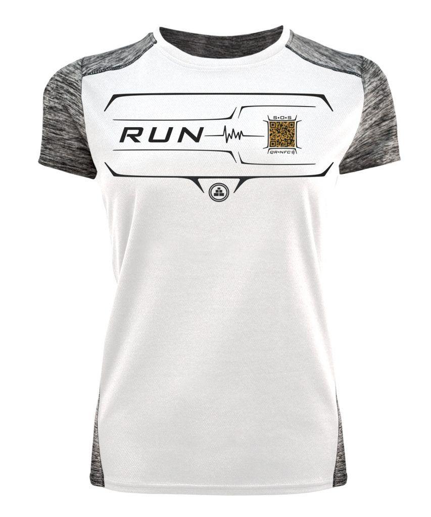 Camiseta Running Inteligente blanca mujer