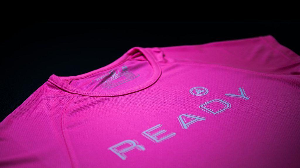 Camisetas deportivas mujer de manga corta