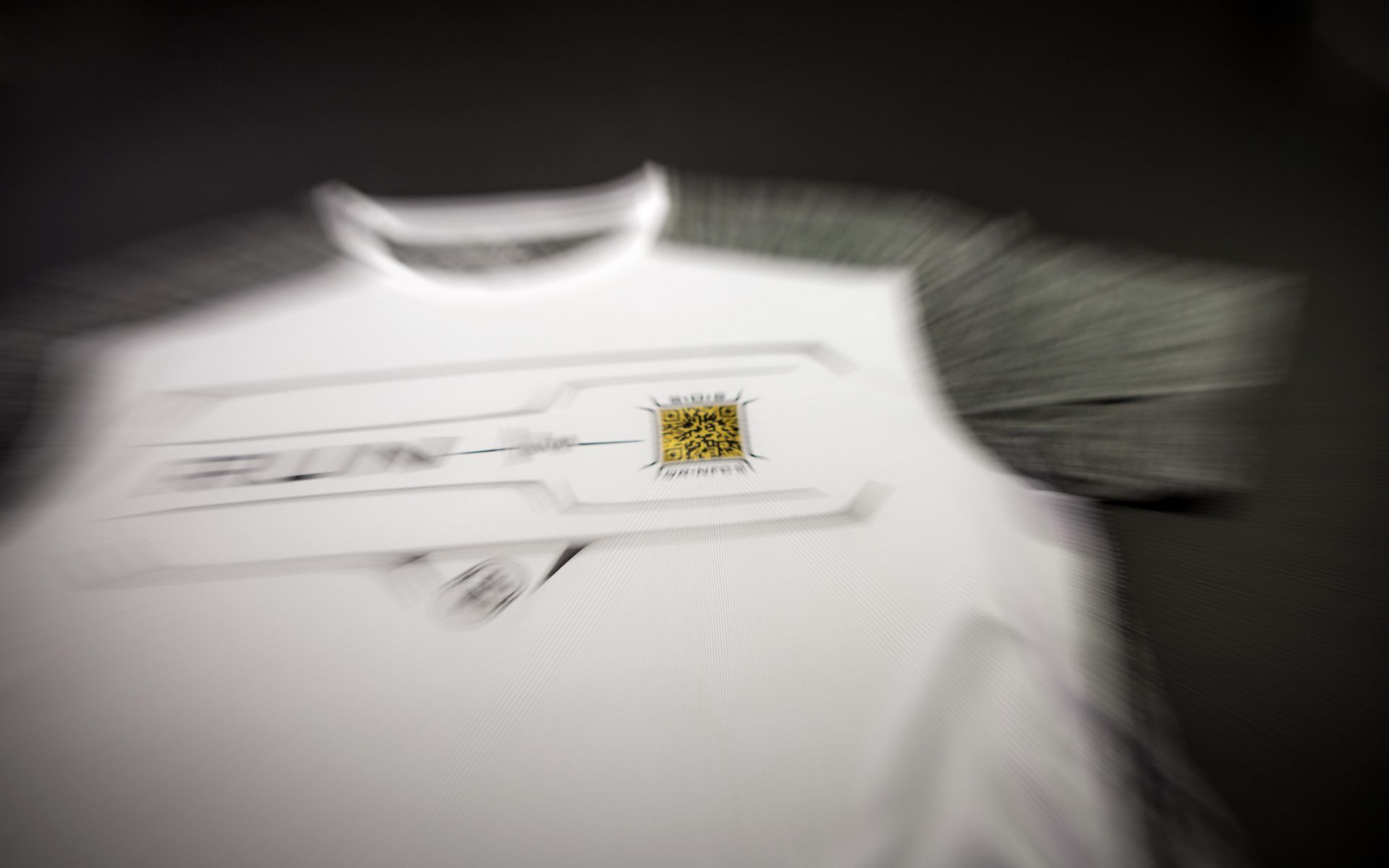 Camiseta inteligentes running blanca